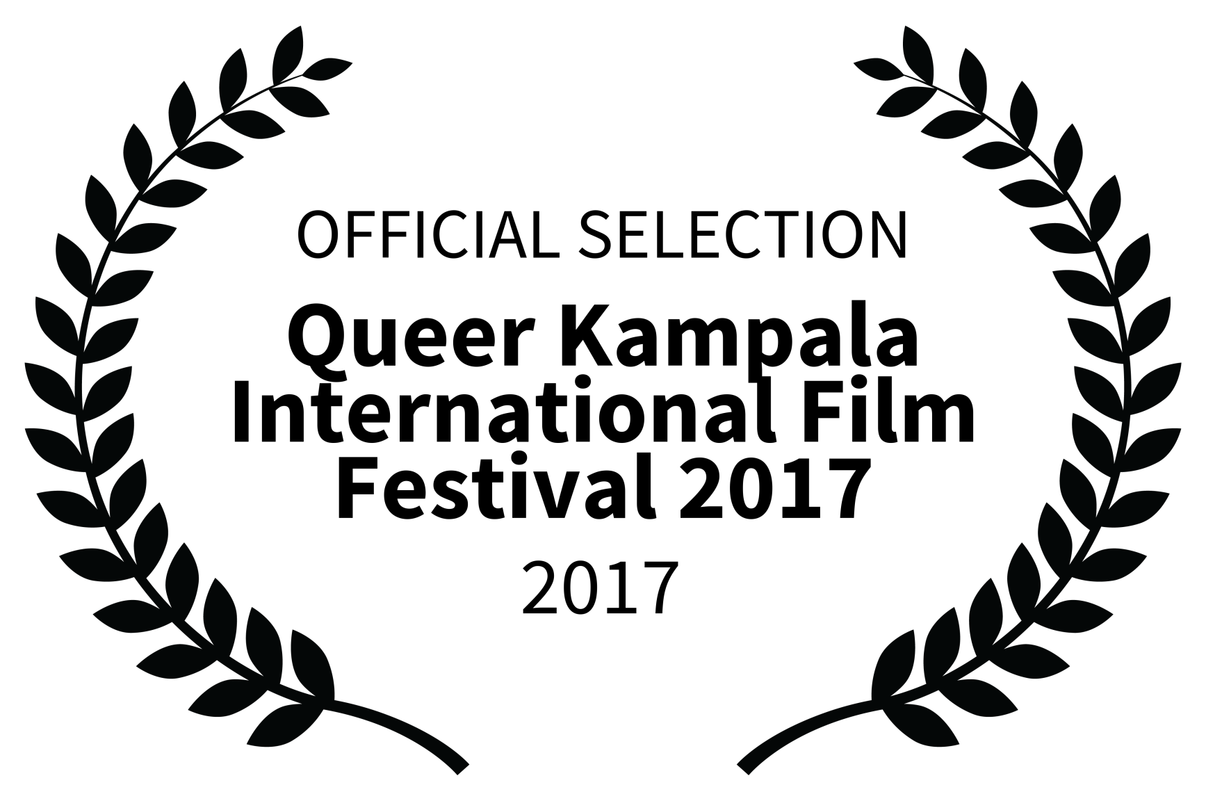 OFFICIAL SELECTION - Queer Kampala International Film Festival 2017 - 2017 - Copy